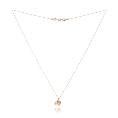 Sophie Lutz Jewellery Money Acorn gold necklace