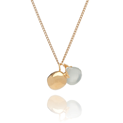 Sophie Lutz Jewellery Fertility pomegranate gold necklace