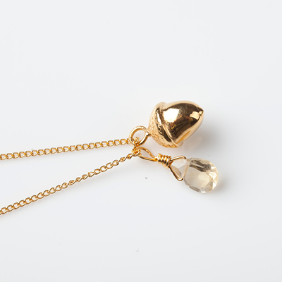 Sophie Lutz Jewellery Money Acorn Gold