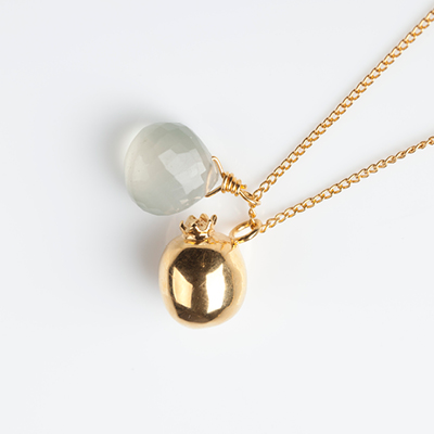 Sophie Lutz Jewellery Fertility pomegranate Gold