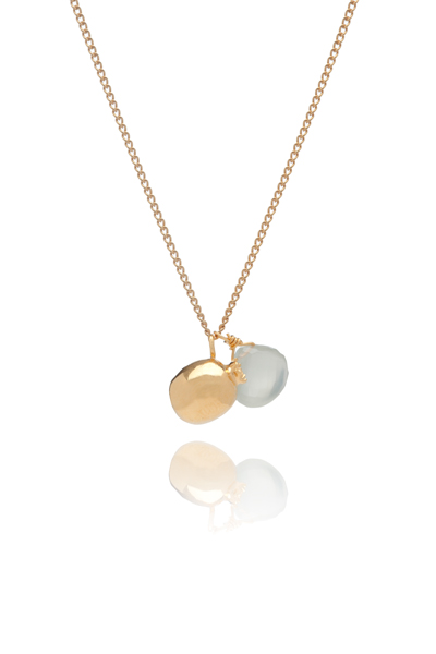 Sophie Lutz Fertility Symbolism Gold Pomegranate