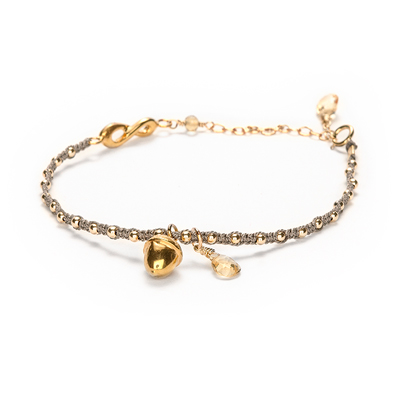 abundance acorn sophie lutz jewellery gold braclet