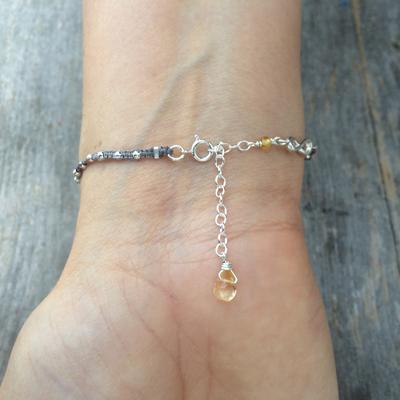 abundance acorn sophie lutz jewellery silver braclet