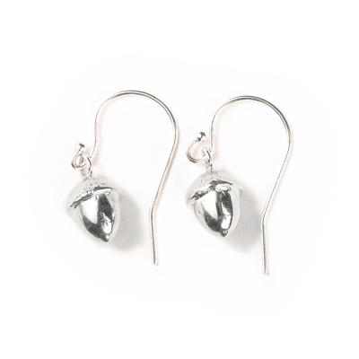 abundance acorn sophie lutz jewellery silver earrings