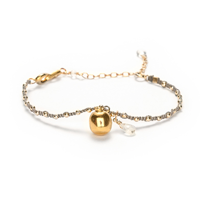 creativity pomegranate sophie lutz jewellery gold braclet