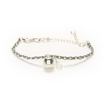 creativity pomegranate sophie lutz jewellery silver braclet
