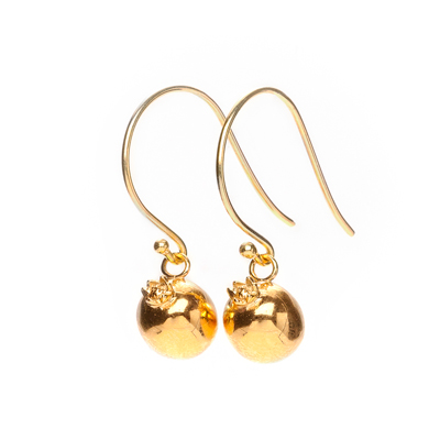 creativity pomegranate sophie lutz jewellery gold earrings