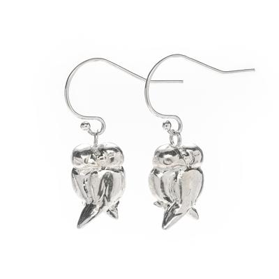 love birds sophie lutz jewellery silver earrings