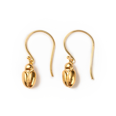 transformation scarab sophie lutz jewellery gold earrings